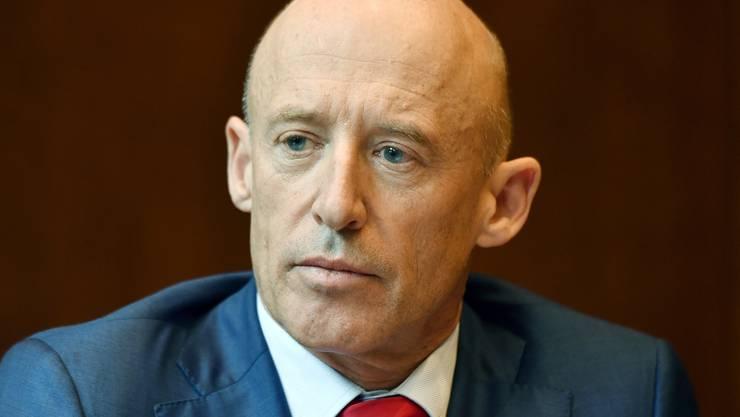Patrik Gisel war 13 Jahre Stellvertreter von Pierin Vincenz.