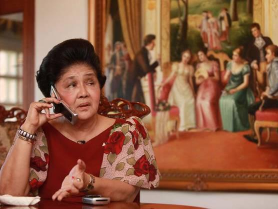 Bestreitet Schuhtick: Diktatorenwitwe Imelda Marcos (Archiv)