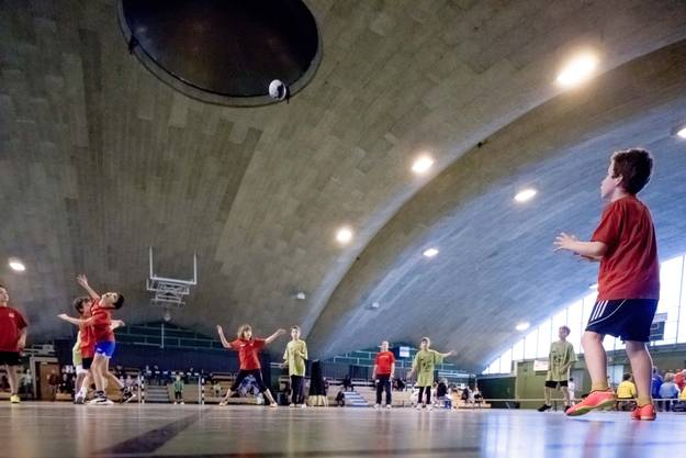 Auch der Minihandball-Sporttag Anfangs Januar findet im CIS-Center statt.