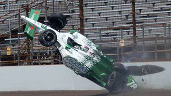 Simona de Silvestro verursachte einen spektakulären Crash