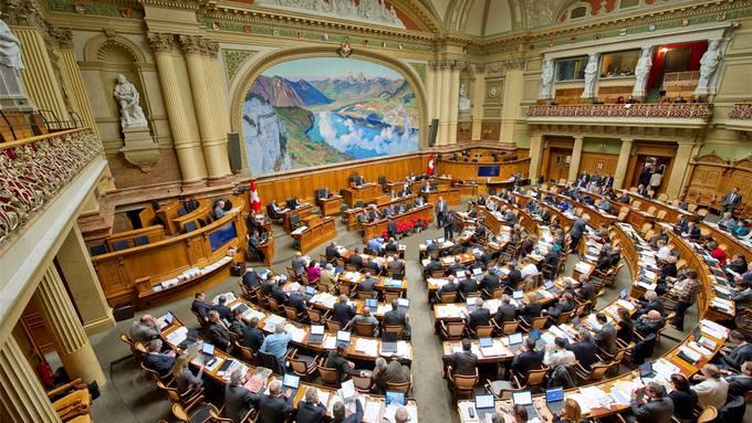 Nationalratssaal in Bern. Die Sitze werden neu verteilt.