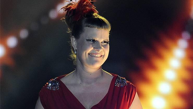 Nicole Bernegger, der Liebling des Schweizer Fernsehpublikums.