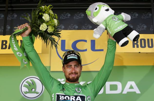 Der Sprinter: Peter Sagan.
