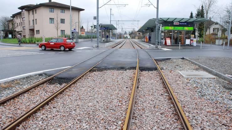 Wynental- und Suhrentalbahn ist endlich weg von der Strasse