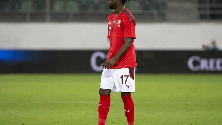 Wegen eines positiven Corona-Tests konnte Jordan Lotomba nicht nach Belgien reisen