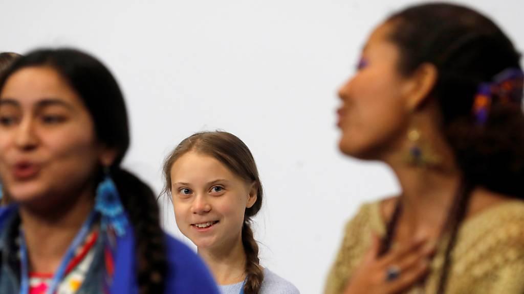 Thunberg und Neubauer geben Klimaaktivisten Plattform