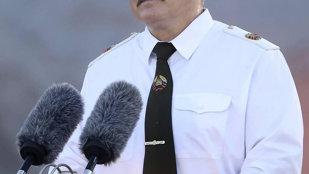 Alexander Lukaschenko, Präsident von Belarus: Foto: Pavel Orlovsky/BelTa/AP/dpa
