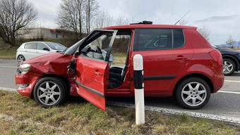 Vortritt missachtet: Unfall Oberentfelden