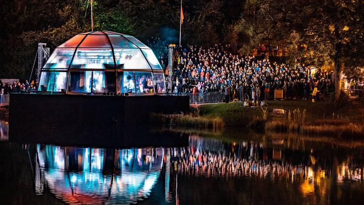 Das Konzert von Patent Ochsner am Blausee vom 8. September.