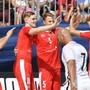 Die Schweizer Beach-Fussballer sind im Kampf um die WM-Plätze weiter dabei