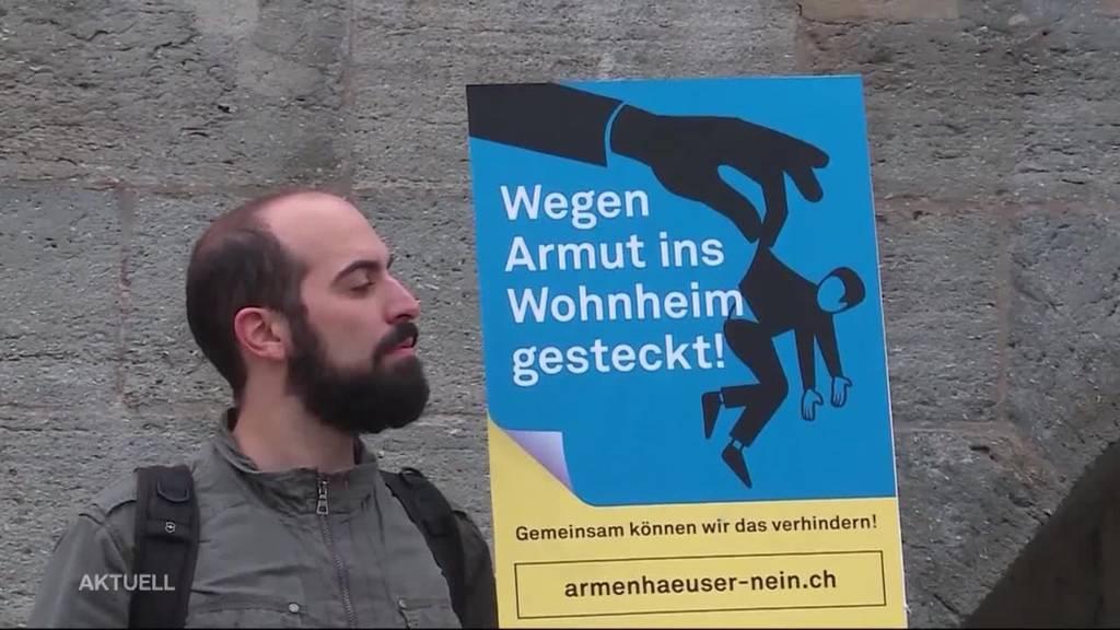 Demo gegen Zwangseinweisungen von Armen?