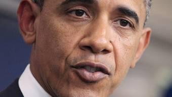 Barack Obama warnt vor Stellenabbau und Wirtschaftskrise. (Archiv)