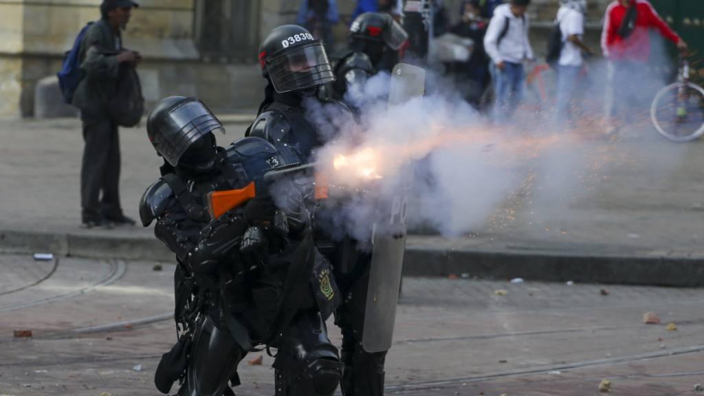 Erneute Proteste gegen Kolumbiens Regierung münden in Gewalt