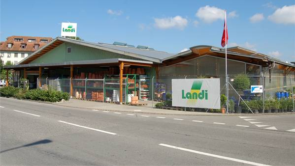 Die Landi-Filiale in Lenzburg.