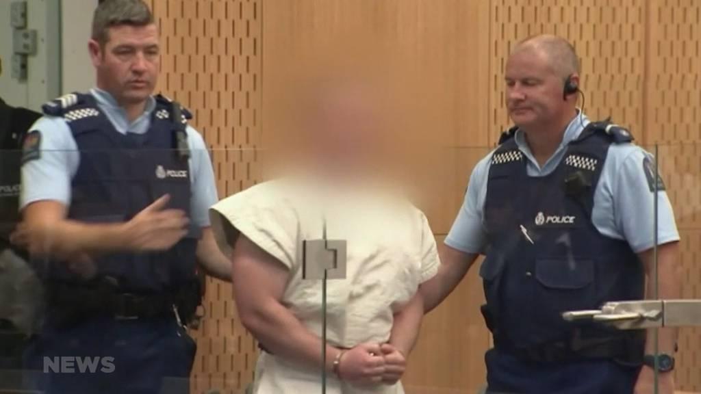 Christchurch: Mutmasslicher Attentäter erscheint vor Gericht