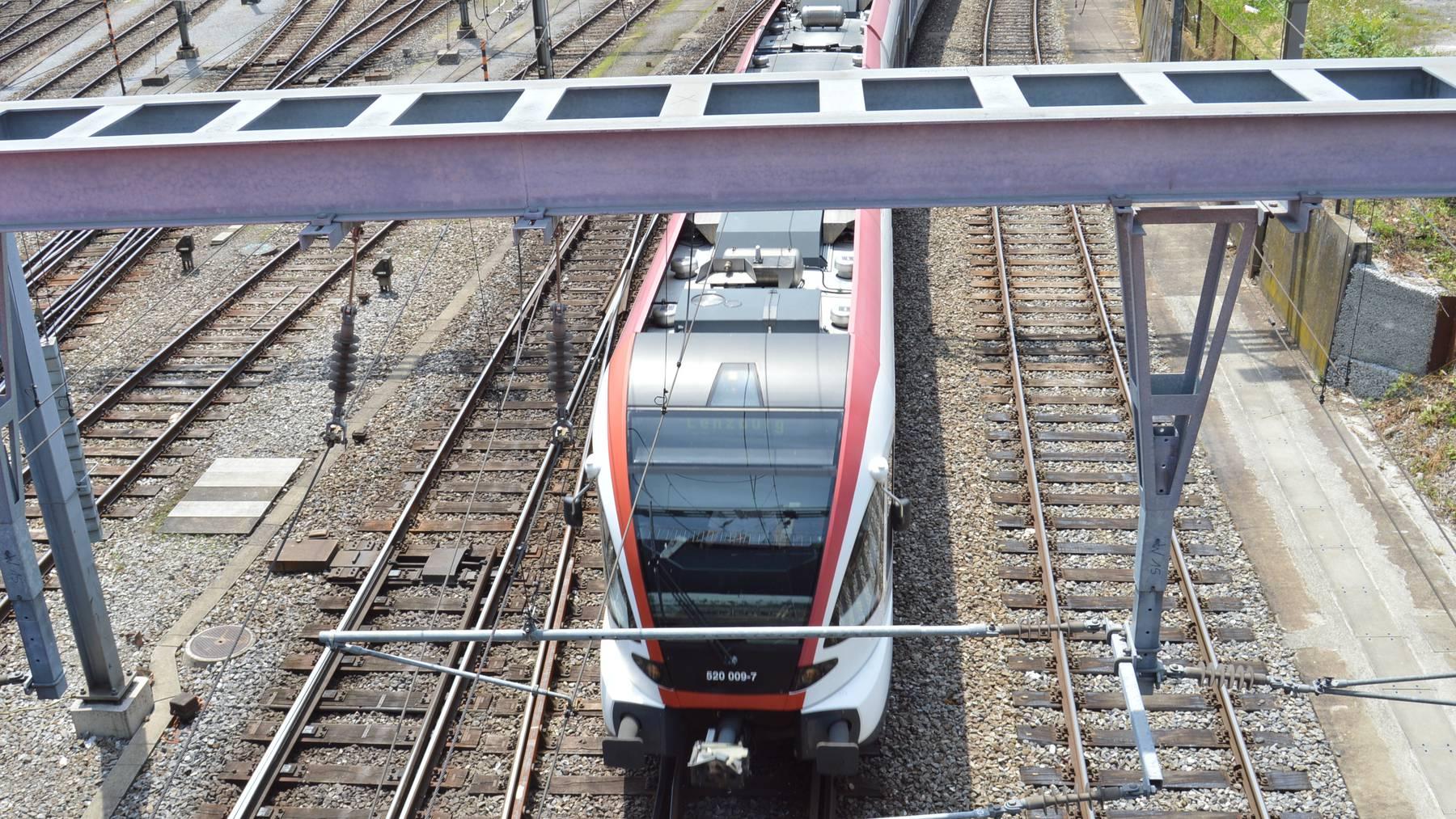Ein Zug der SBB (Symbolbild).
