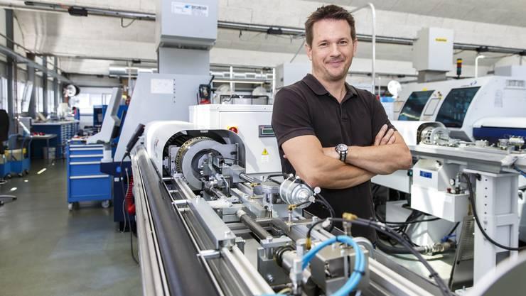 Dominic Andres (44) führt seit 2002 die Andres AG. Sein Grossvater gründete die Firma.