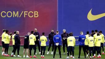 FC Barcelona spendet Schutzmasken