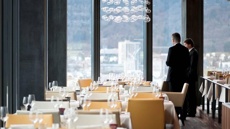 Das Restaurant «Clouds» im Prime Tower ist fast immer ausgebucht