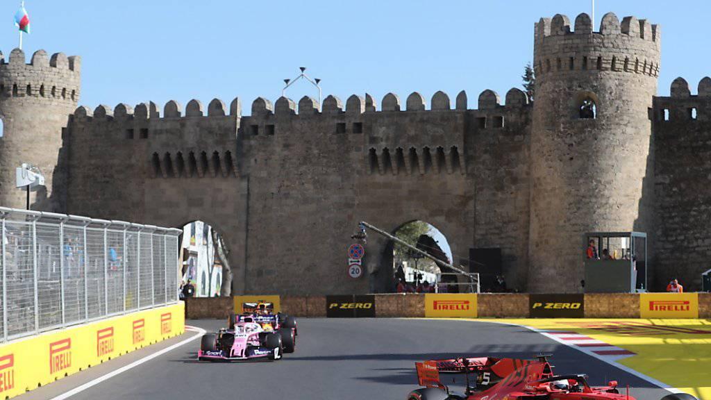 Nach den chaotischen Rennen in den letzten zwei Jahren verlief der Grand Prix in Baku diesmal ohne besondere Vorkommnisse