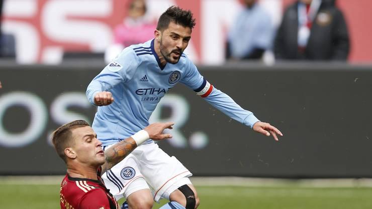 Auch Weltmeister David Villa kickte zwischenzeitlich in der Major League Soccer.