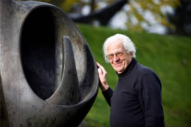 Erwin Rehmann kurz vor seinem 90.Geburtstag (Archiv)