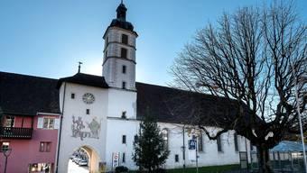 Die Kirche St. Katharina ist eine der wichtigsten Barockkirchen des Kantons. ken