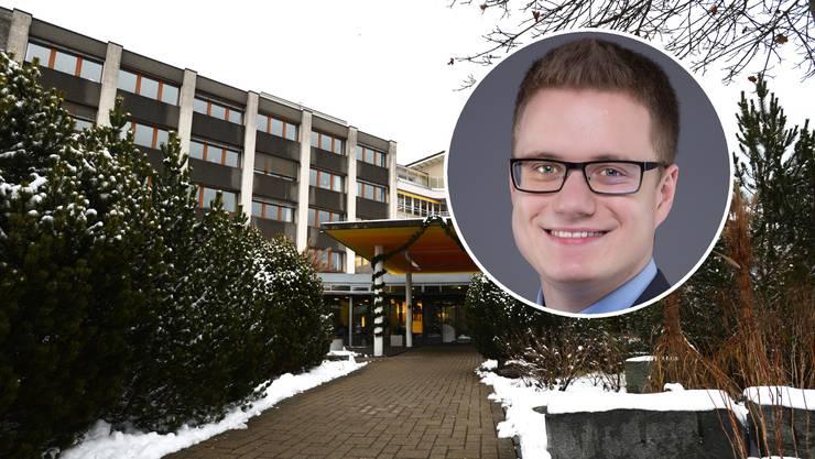 Pascal Hüsser, Chief Information Security Officer bei der Lenzburger Hint AG, erklärt, wie es zum Hackerangriff auf das Altersheim Schöftland kommen konnte.