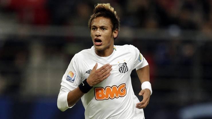Der brasilianische Superstar lancierte seine Karriere als 17-Jähriger beim FC Santos.