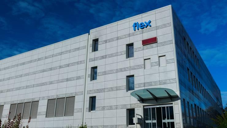 Ansicht Gebäude Flex in Hägglingen