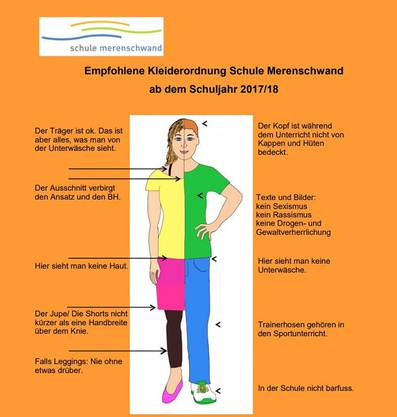 Kleiderordnung Schule