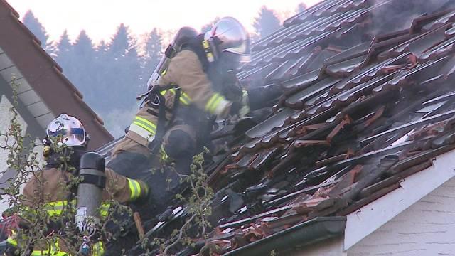 Hausbrand in Gränichen: Schutzengel Brandmelder