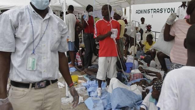 Dutzende von Menschen ins Spital eingeliefert