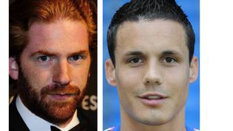 1,5 Millionen Franken schuldet Patrick Liotard-Vogt (links) dem FCB-Kicker David Degen.