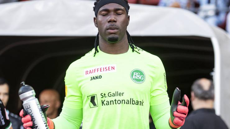 Torhüter Lawrence Ati Zigi bewahrte den FCSG vor der ersten Niederlage