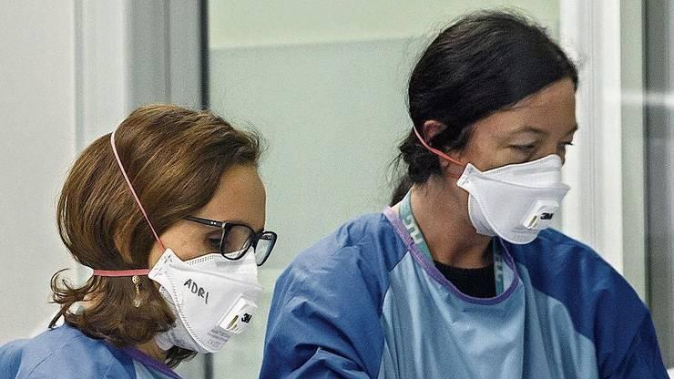 Nur für Profis: Atemschutzmasken mit Feinstaubfilter.