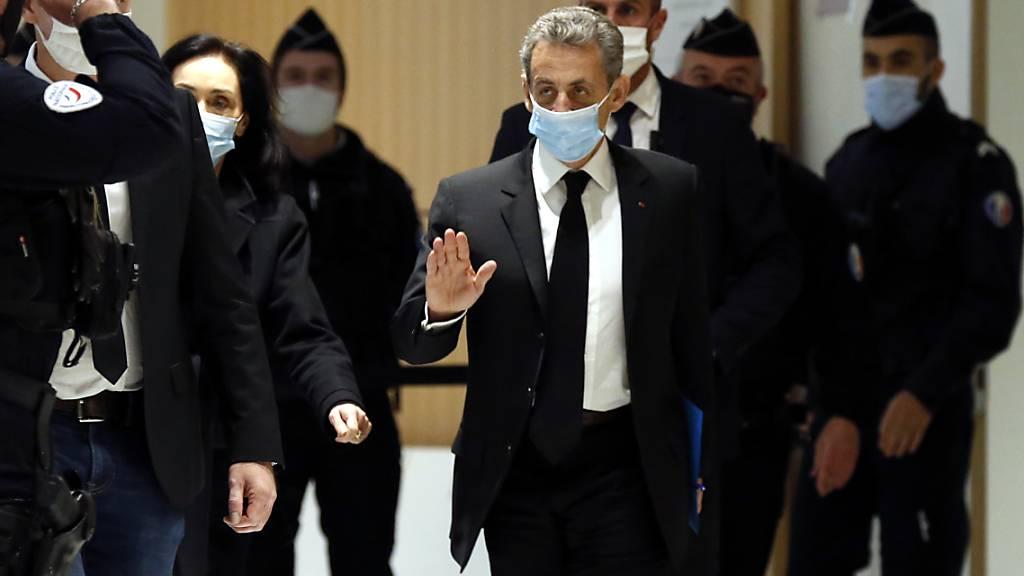 «Niemals die geringste Bestechungstat»: Sarkozy spricht vor Gericht