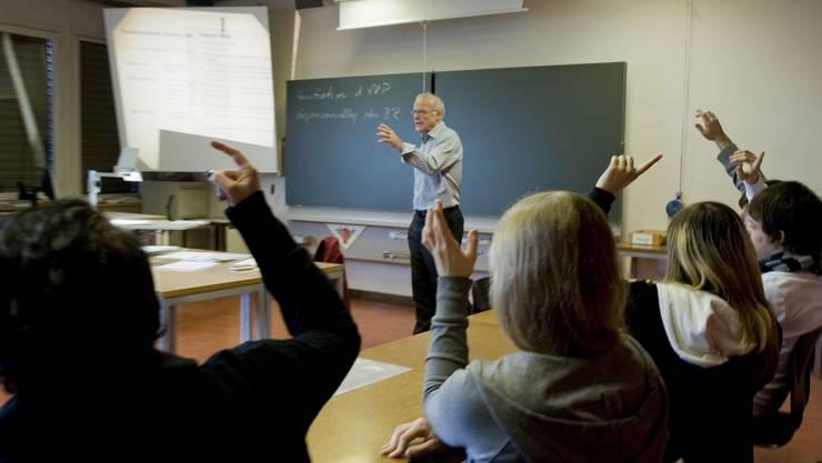 Lehrkräfte, die in Schöftlöand unterrichten, sind nun zufrieden mit ihrer Arbeit. az/Archiv