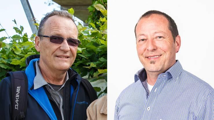 Pro Wasseramt-Gründer Jürg Krämer (links) und Pro Wasseramt-Präsident Hardy Jäggi