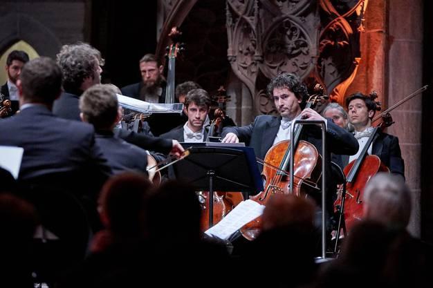 Das Sinfonieorchester Basel spielt unter der Leitung von Mario Venzago