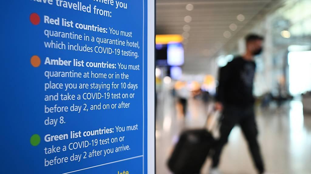 Heathrow-Chef fordert Reiselockerungen - Verlust ausgeweitet