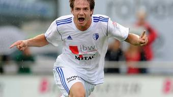 Benjamin Stauber und sein FC Wohlen konnten in Nyon jubeln. Foto: Alexander Wagner