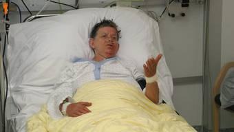 Die Zetzwilerin Annaliese Ernst liegt immer noch im Spital