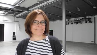 Die Hauptorganisatorin Irene Brioschi in der noch leeren Reppischhalle.