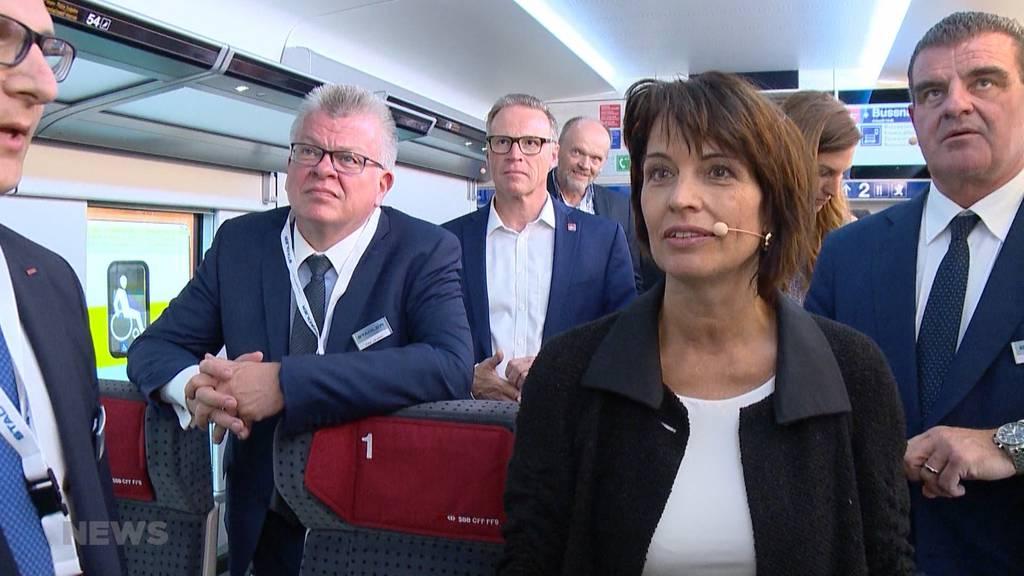 Verwaltungsrat: Stadler-Rail holt Alt-Bundesrätin Doris Leuthard