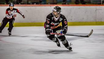 Tobias Steiner und die Argovia Stars gehen gegen Reinach als Sieger vom Eis.