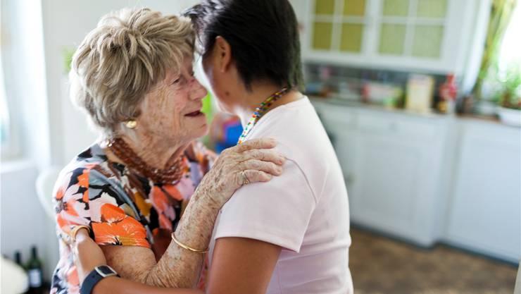 In Holziken kümmert sich künftig eine professionelle dorfeigene Spitex um pflegebedürftige Menschen. key