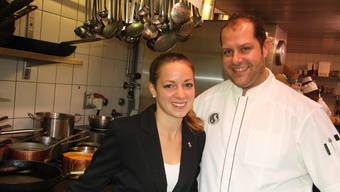 Tamara und Stefan Bader freuen sich über die neu 15 Punkte von Gault Millau für den «Alten Stephan».