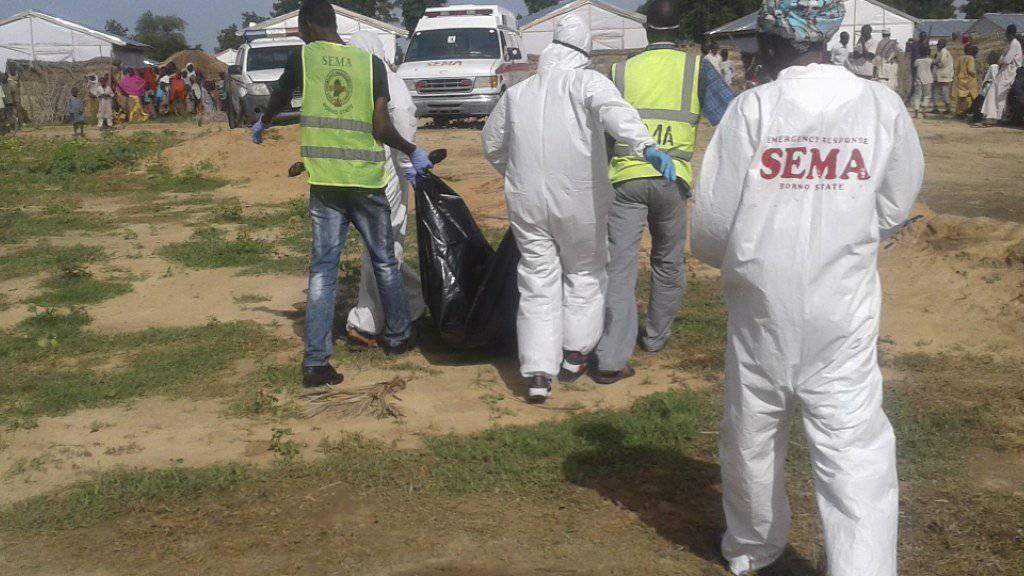 Bereits im Juli kam es bei Maiduguri in Nigeria zu einem blutigen Anschlag mit mehreren Toten. (Archivbild)