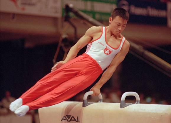 1994 erhielt er die schweizerische Staatsangehörigkeit und konnte somit für die Schweiz auch an internationalen Wettkämpfen teilnehmen. Im Bild: An den Weltmeisterschaften in Puerto Rico